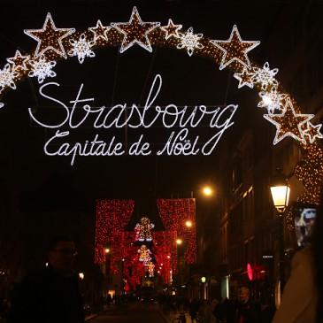 Strasbourg Capitale de Noël 2015 * Inauguration