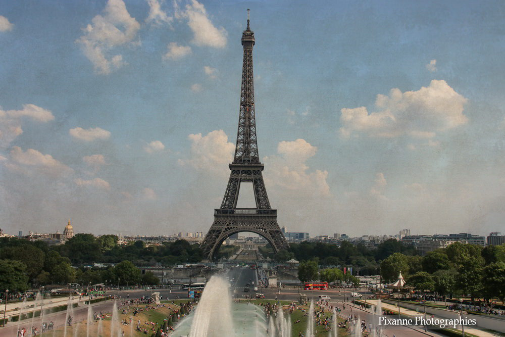 Europe, France, Paris, Tour Eiffel, Pixanne Photographies