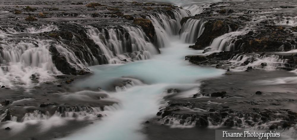 Europe, Islande, Bruarfoss, Pixanne Photographies