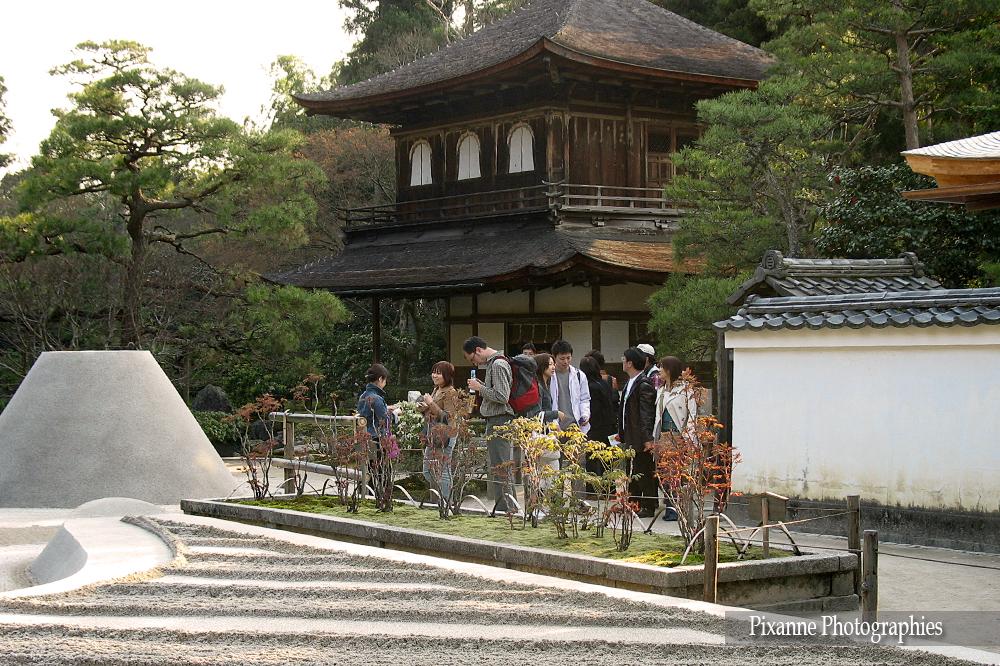 Asie, Japon, Kyoto, Ginkaku Ji, Pavillon d'Argent, Souvenirs de Voyages, Pixanne Photographies