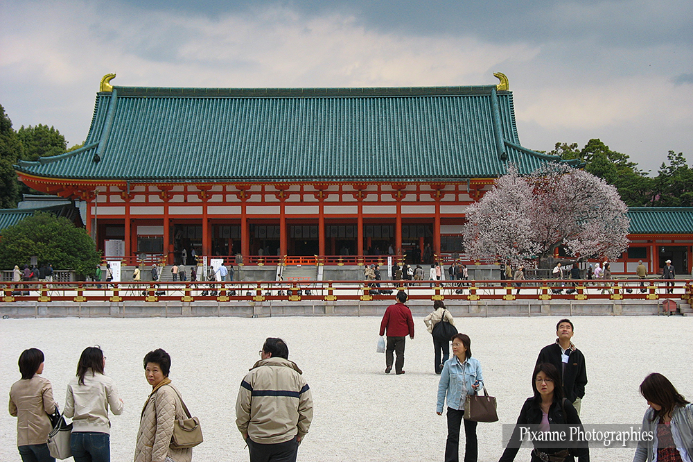 Asie, Japon, Kyoto, Heian Shrine, Souvenirs de Voyages,  Pixanne Photographies