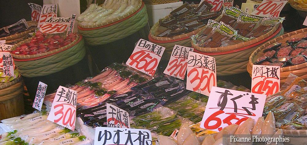 asie, japon, kyoto, tsukemono, souvenirs de voyages, pixanne photographies