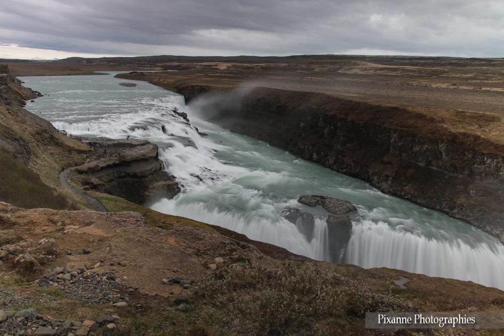 Europe, Islande, Iceland, Cercle d'Or, Gullfoss, Souvenirs de Voyages, Pixanne Photographies