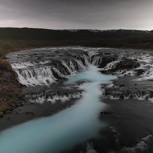 Europe, Islande, Bruarfoss