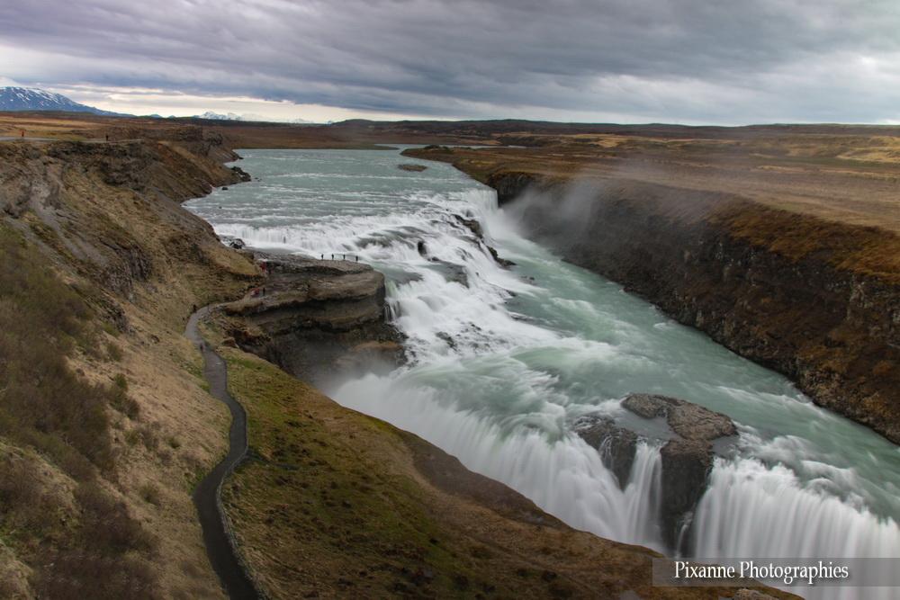 Europe, Islande, Cercle d'Or, Gullfoss, Pixanne Photographies