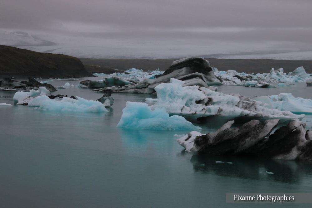 Europe, Islande, Breiðamerkurjökull, Jökulsárlón, Souvenirs de Voyages, Pixanne Photographies
