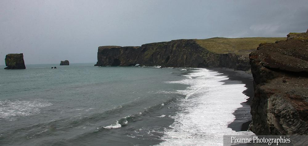 Europe, Islande, Dyrholaey, Souvenirs de Voyages, Pixanne Photographies