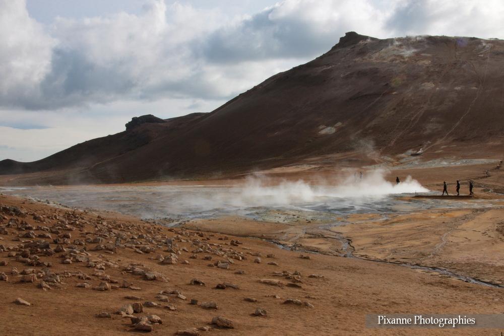 Europe, Islande, Namafjall, Námafjall, Hverir, Souvenirs de Voyages, Pixanne Photographiesr.