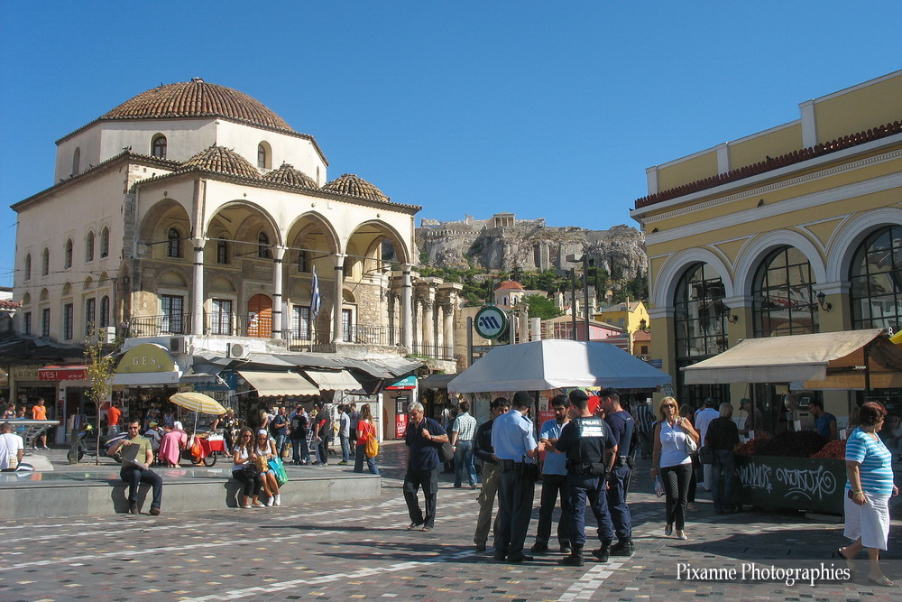 Europe, Grèce, Attique, Athènes, Monastiraki