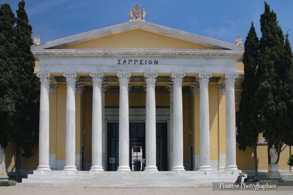 Europe, Grèce, Attique, Athènes, Zappéion, Souvenirs de Voyages, Pixanne Photographies