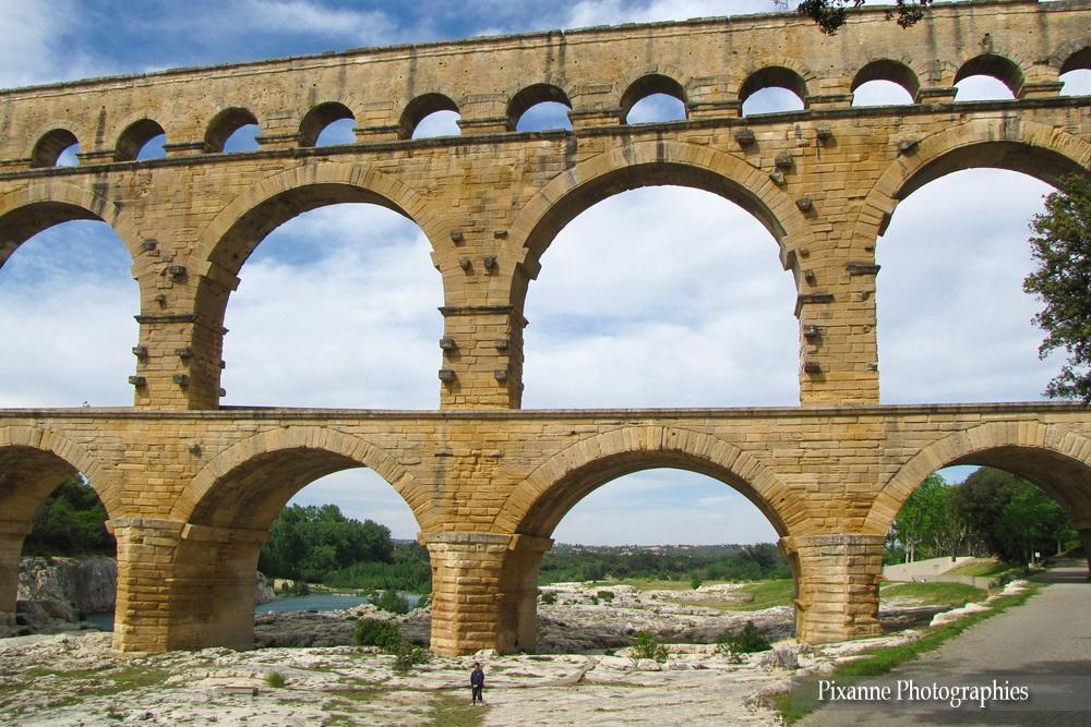 Europe, France, Occitanie, Gard, Pont du Gard, Souvenirs de Voyages, Pixanne Photographies