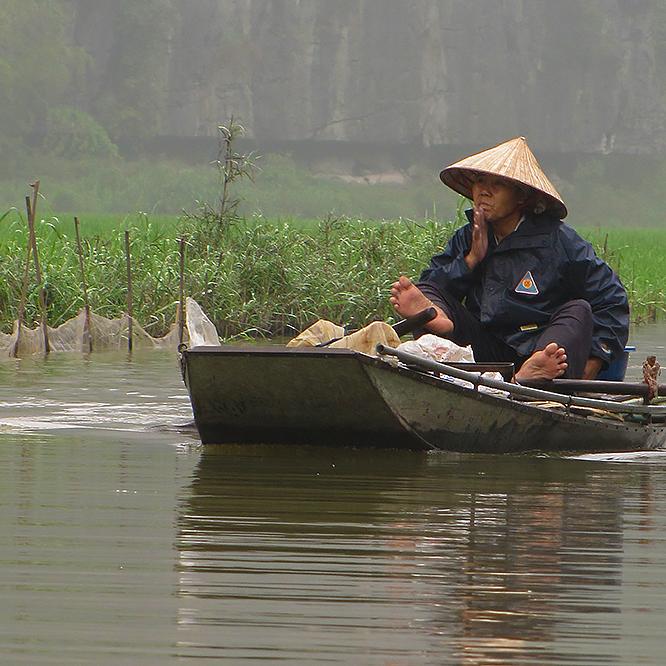 Asie, Vietnam, Baie D'Halong Terrestre, Ninh Binh, Tam Coc, Souvenirs de Voyages, Pixanne Photographies
