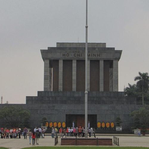 Asie, Vietnam, Hanoï, Mausolée de Hô Chi Minh, Souvenirs de Voyages, Pixanne Photographies