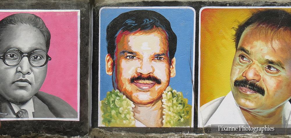 Asie, Inde du Sud, Tamil Nadu, Mahabalipuram, Pondichery, Souvenirs de Voyages, Pixanne Photographies