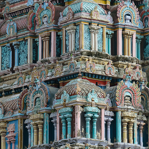 Asie, Inde du Sud, Tamil Nadu, Chidambaram, Nataraja Temple, Souvenirs de Voyages, Pixanne Photographies