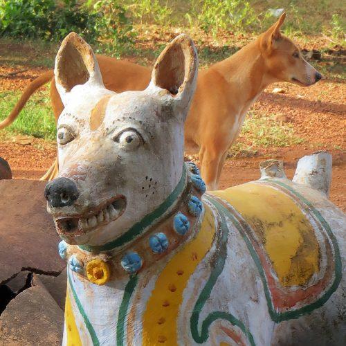 Asie, Inde du Sud, Chettinad, Kothamangalam, Ayyanar Temple, Souvenirs de Voyages, Pixanne Photographies