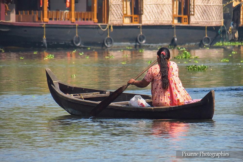 Asie, Inde du Sud, Kerala, Backwaters, Souvenirs de Voyages, Pixanne Photographies