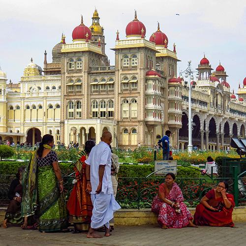 Asie, Inde du Sud, Karnataka, Mysore, Palais, Souvenirs de Voyages, Pixanne Photographies