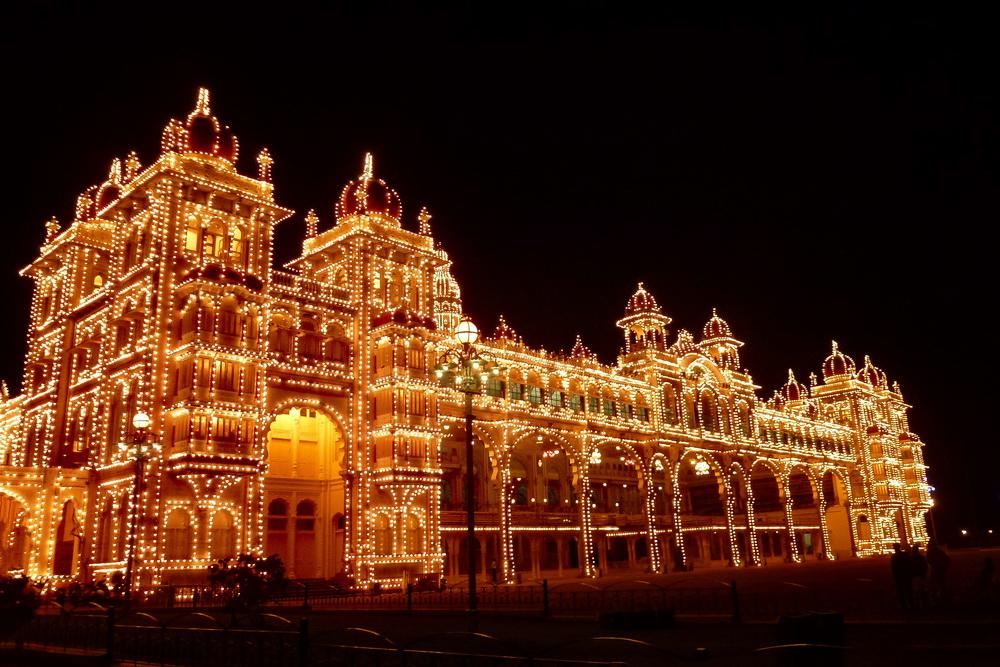 Asie, Inde du Sud, Karnataka, Mysore, Mysuru, Palais, Souvenirs de Voyages, Pixanne Photographies
