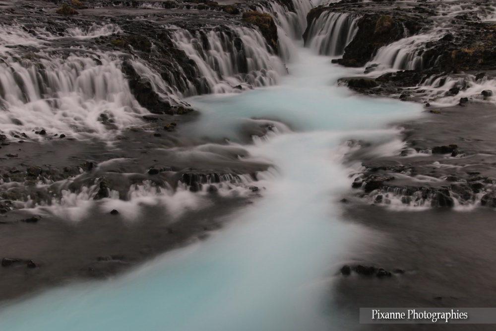 Europe, Islande, Cascade, Bruarfoss, Pixanne Photographies