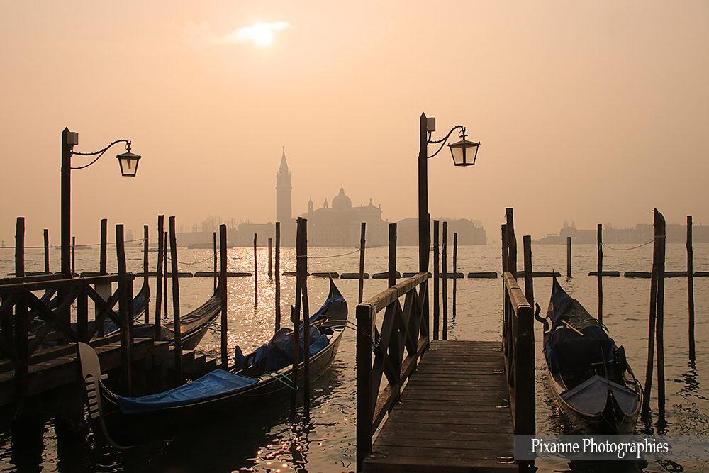 Europe, Italie, Venise, Gondole, Pixanne Photographies