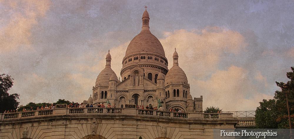 Europe, France, Paris, Montmartre, Sacré Coeur, Pixanne Photographies