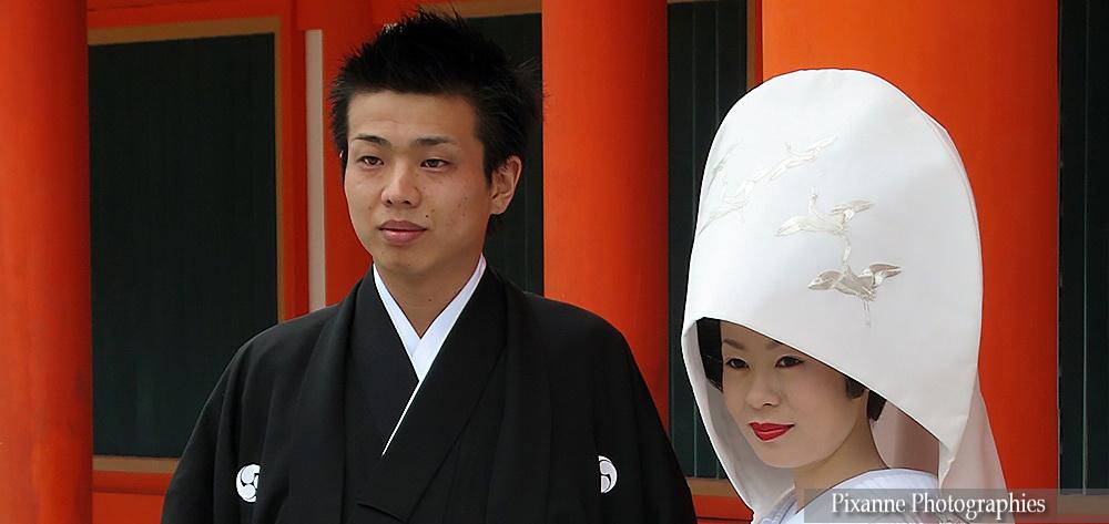 Asie, Japon, Kyoto, Shimogamo Shrine, Mariage, Pixanne Photographies
